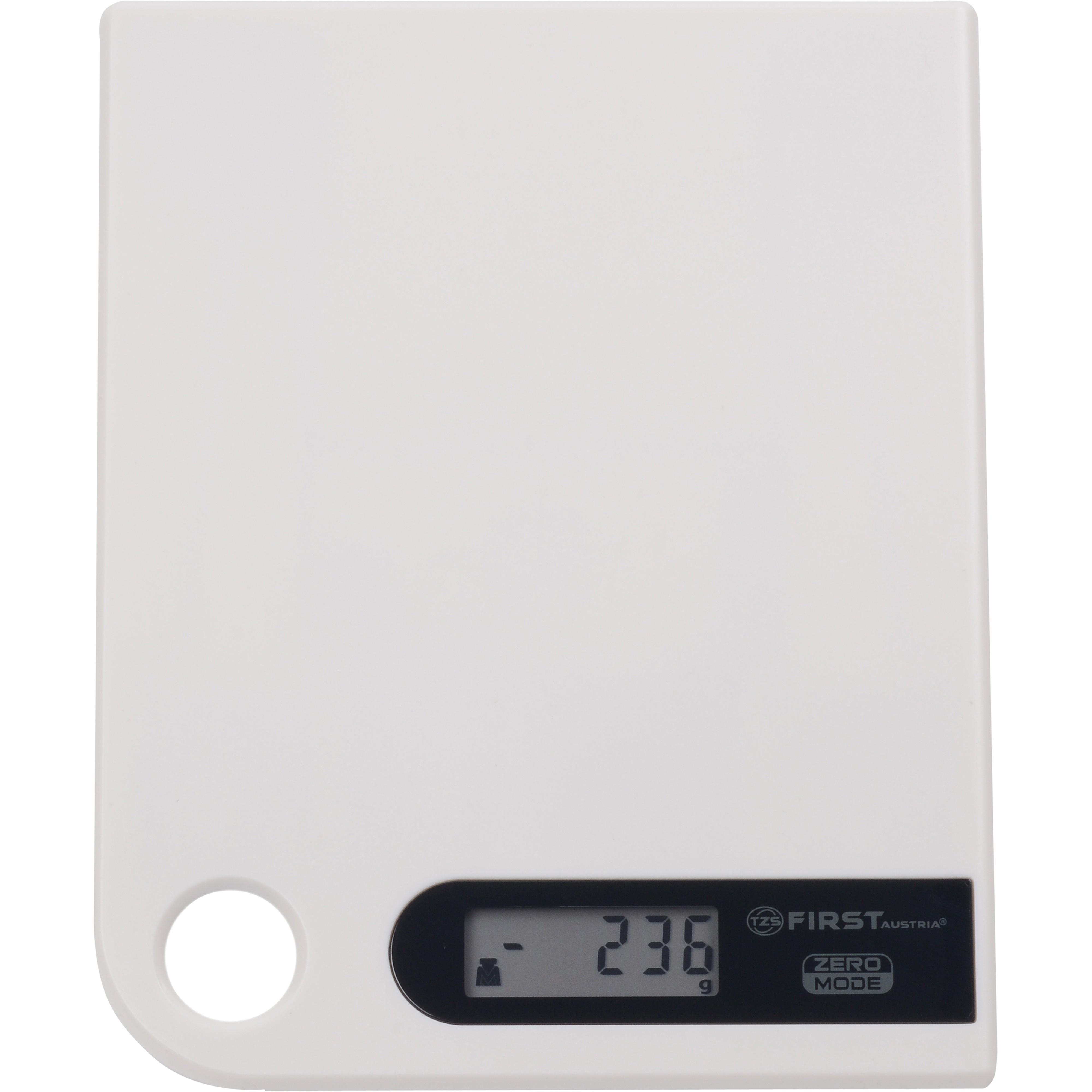 Весы кухонные FIRST 6401-1 greyКухонные весы<br>Простые и удобные для использования цифровые весы First 6401-1 с петлей для подвешивания всегда будут под рукой.<br>
