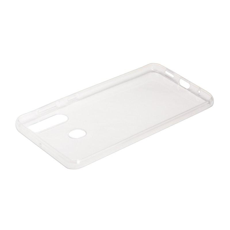 Силиконовый чехол «LP» для Samsung Galaxy M40 TPU (прозрачный) коробка