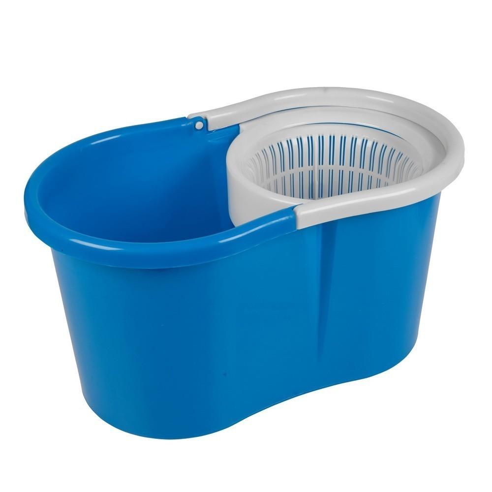 Швабра с  отжимом Spin and Go 2 (Magic Mop), синяя