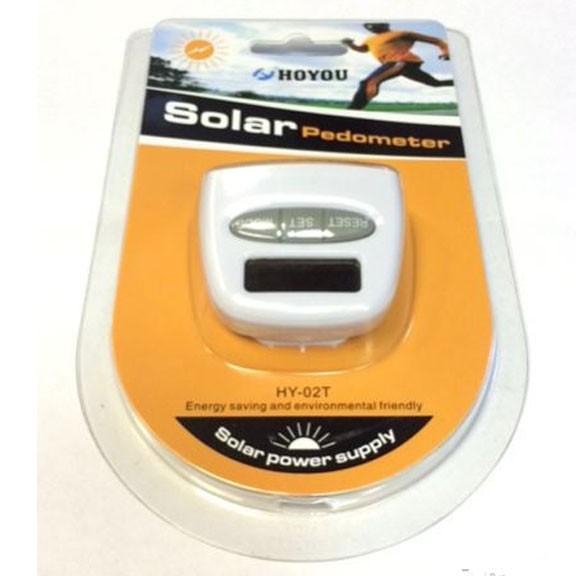 Шагомер на солнечной батарееШагомеры<br>Если вы хотите научиться следить за количеством растраченных калорий, то просто обязаны купить шагомер на солнечной батарее. Это устройство приучит вас к активному образу жизни и поможет избавиться от лишних килограммов.<br>