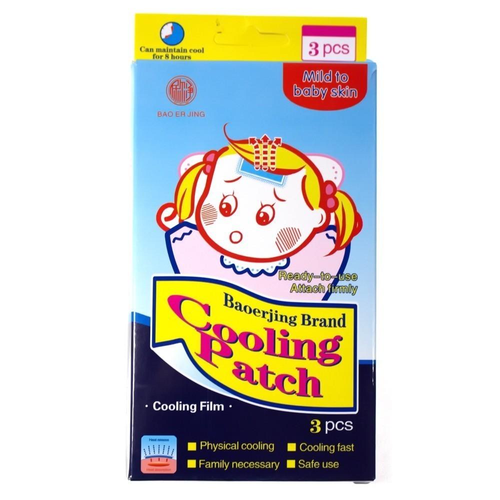Жаропонижающий пластырь Cooling Patch, 3 шт