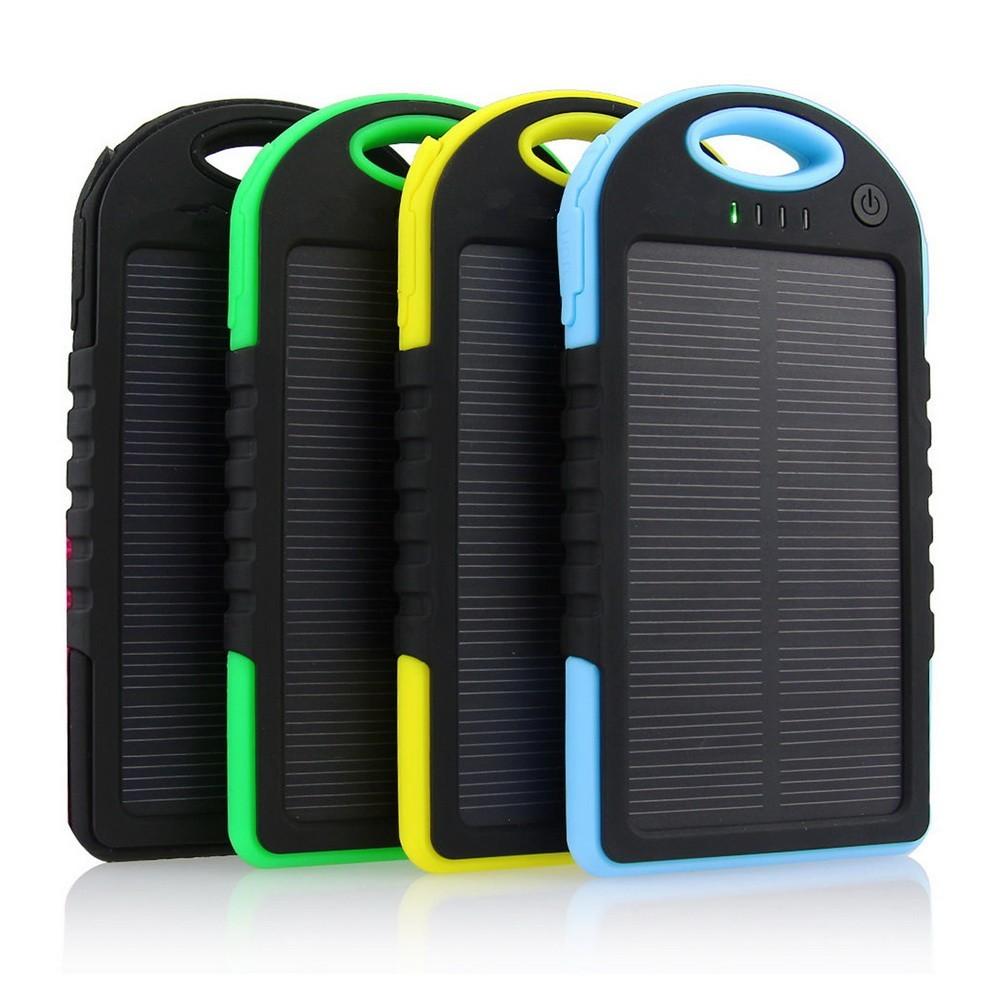 Solar Power Bank 5000 mAh - аккумулятор на солнечной батарееPower Bank на солнечных батареях<br>Кто не сталкивался с ситуацией, когда ожидаешь важного звонка, а телефон разрядился? Современные гаджеты просто не могут слишком долго работать без подзаряда из-за большого разнообразия функций. Как быть на связи всегда и везде? Ответ на этот вопрос знает Solar Power Bank 5000 mAh - аккумулятор на солнечной батарее. Спешите купить полезного помощника по суперцене в интернет магазине Мелеон!<br>