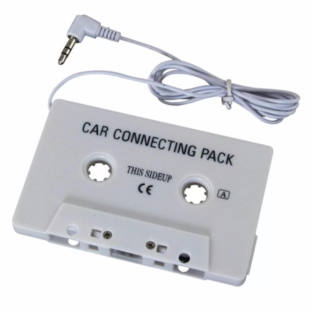 Кассетный адаптер для автомагнитолы - белыйОстальное<br>А вы знаете, что к привычной старой автомагнитоле можно подключить CD и mp3 плеер? Для этого не нужно быть автомехаником-волшебником или платить заоблачные суммы денег за модный девайс! Предлагаем вам кассетный адаптер для автомагнитолы, который позволит наслаждаться любимой музыкой в любом формате!<br>