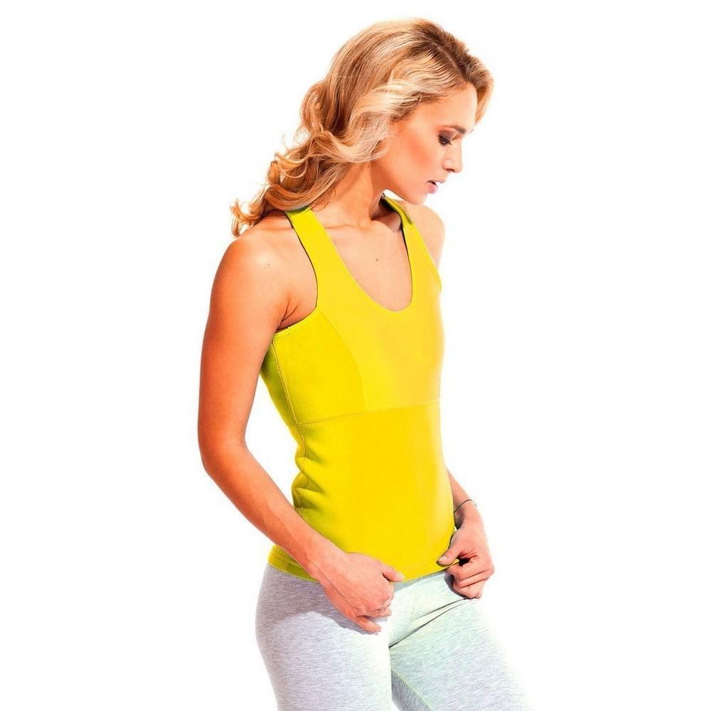 Майка для похудения - Body Shaper (жёлтый), L фото