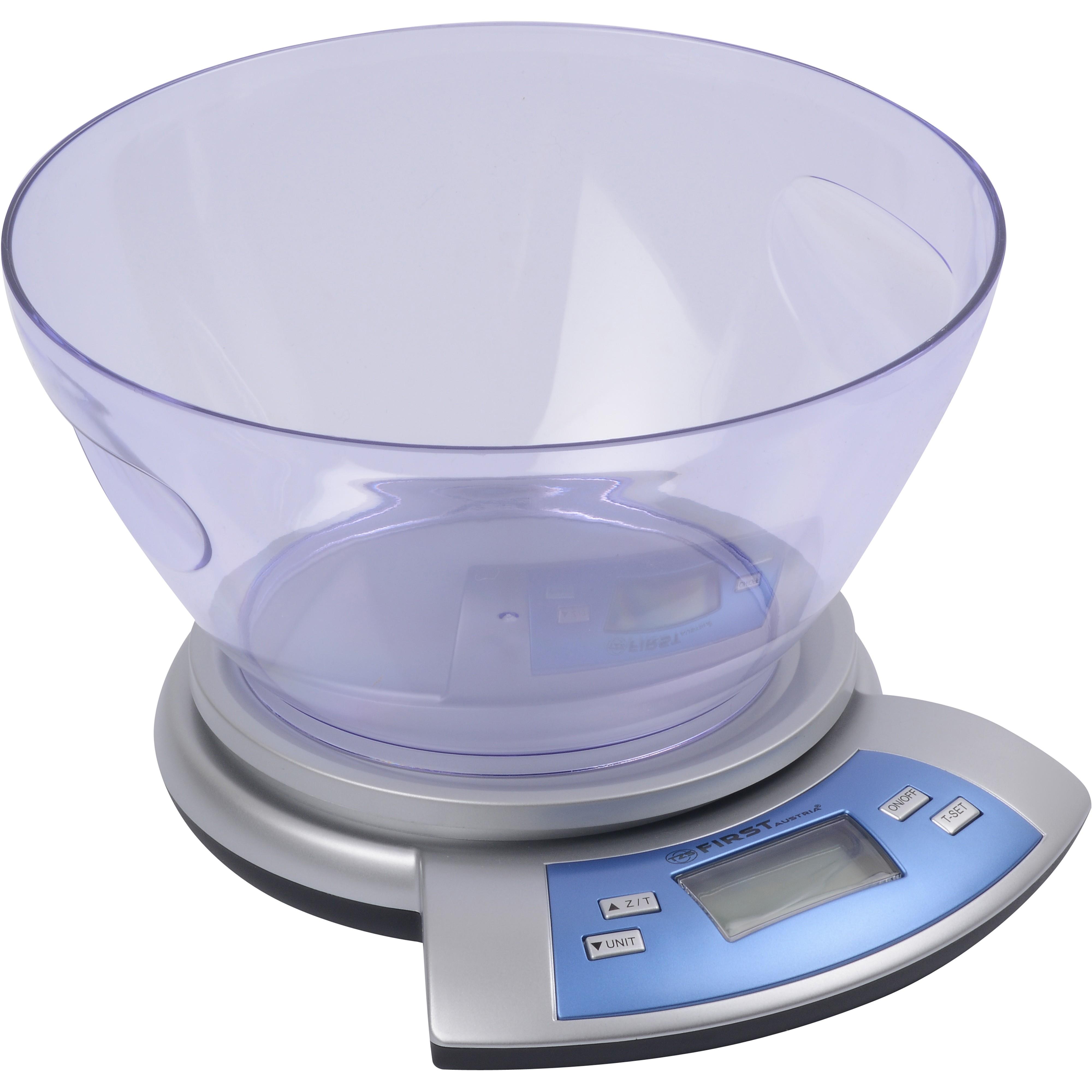 Весы кухонные FIRST 6406 SilverКухонные весы<br>Тип электронные Максимальный вес 5 кг Цена деления 1 грамм Функция взвешивания тары + Индикатор низкого заряда батареи + Автоматическое вкл./выкл. + Индикатор перегрузки<br>