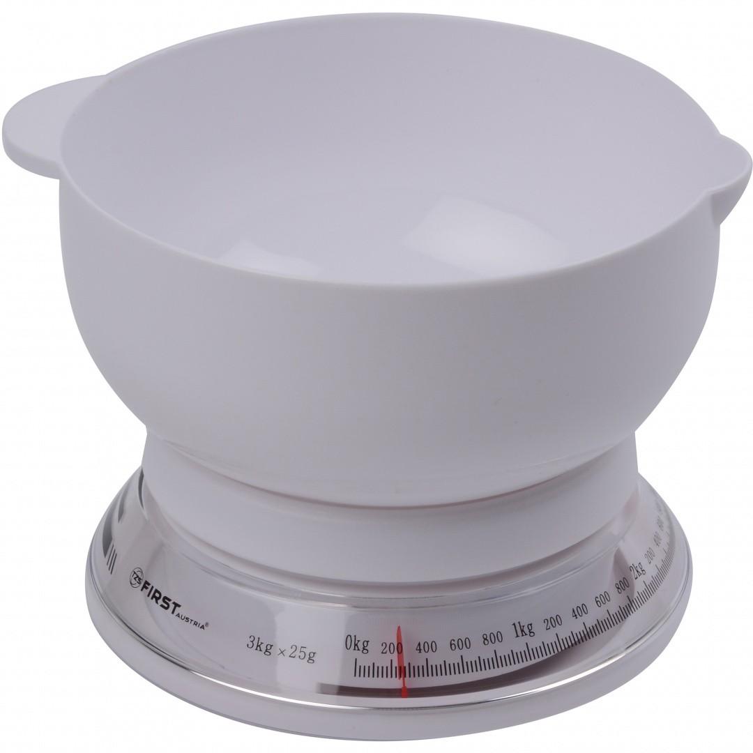 Весы кухонные FIRST 6421 FA-6421 White