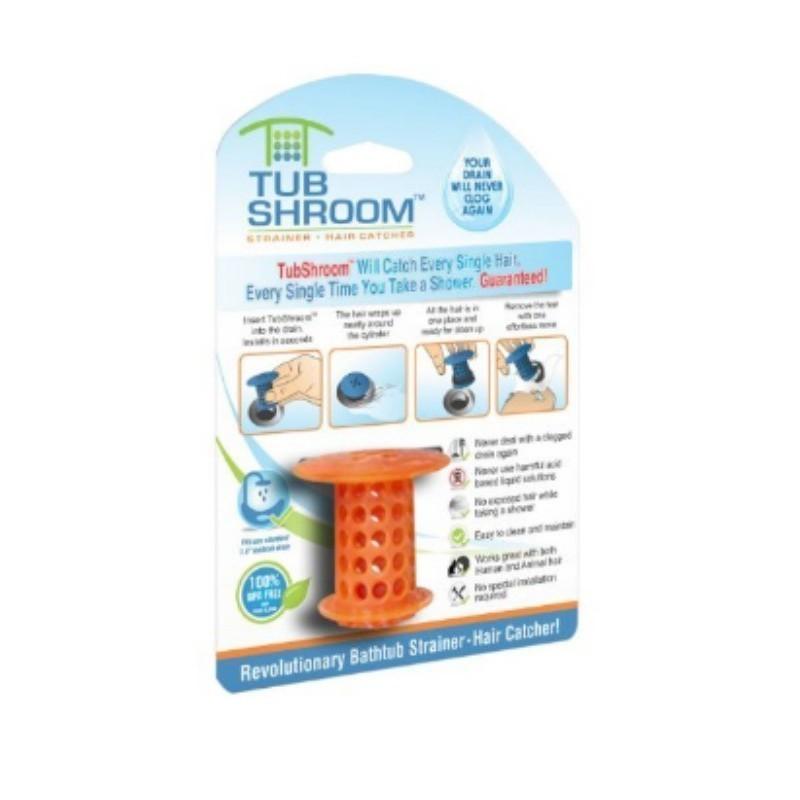 Фильтр для сливного отверстия - Tub ShroomДля прочистки засоров<br>Часто забиваются сливы в раковинах и ванной? Приобретайте супер фильтр для сливного отверстия и забудьте, что такое засоренная труба!<br>