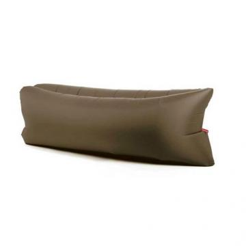 Надувной диван Биван — гамак Ламзак, коричневый 170-180 х 70