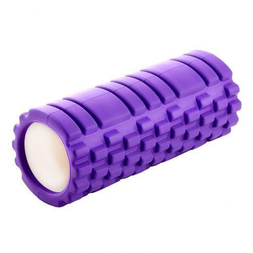 Валик для фитнеса - Туба, фиолетовый