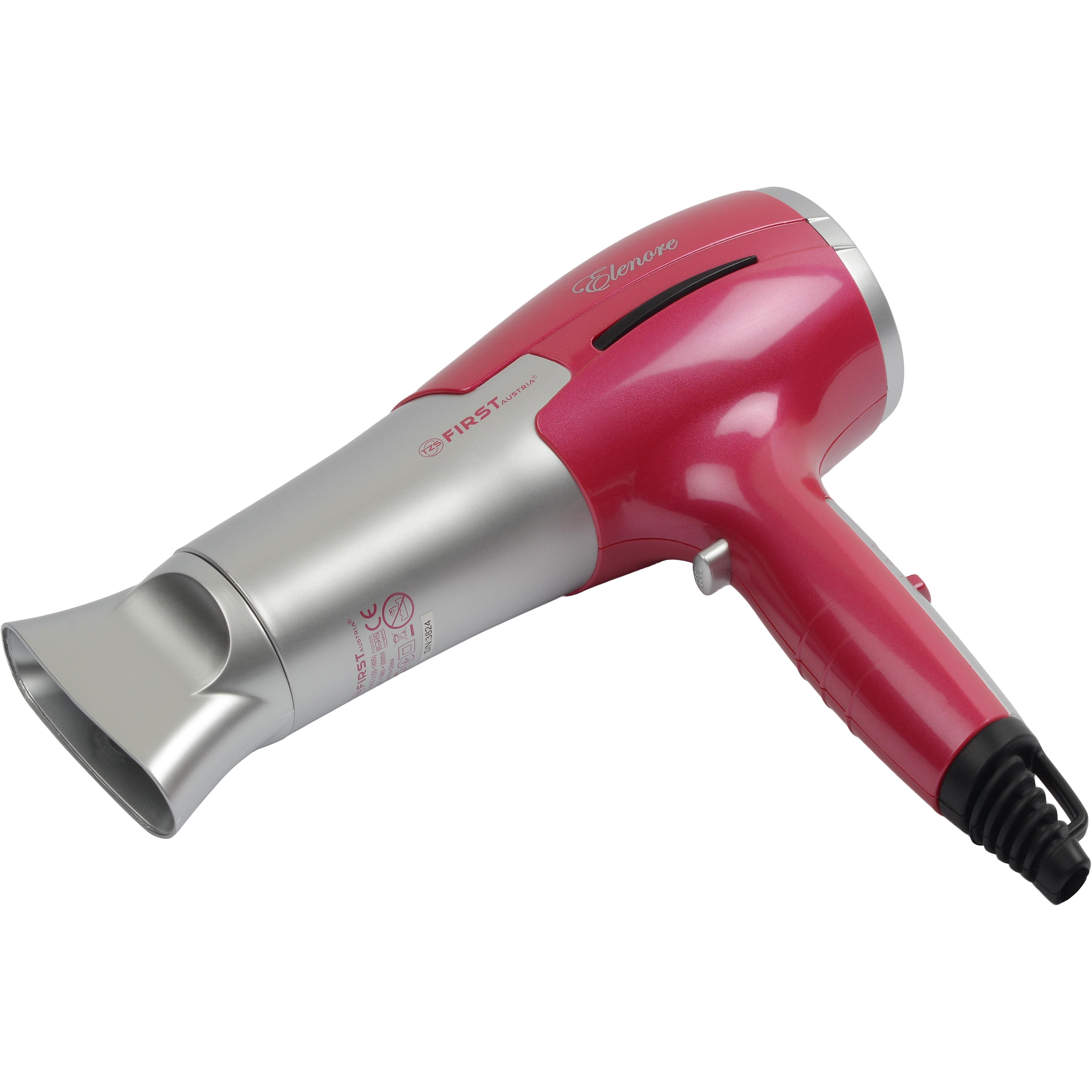 Фен FIRST 5657-2 RedДля сушки волос<br>Фен First FA-5657-2 гармонично сочетает в себе приятный дизайн и оптимальный набор функций, которые позволят быстро высушить волосы и создать стильную укладку.Фен имеет 3 температурных режима, 2 скорости - сочетают в себе комбинации работы, которые помогут вам создать нужный объем волос при укладке.<br>