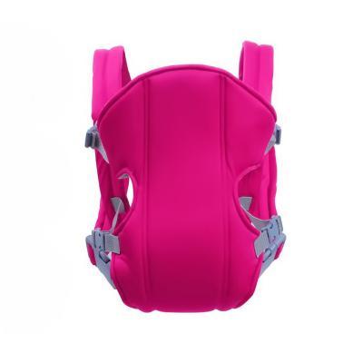 Рюкзак-слинг для переноски ребенка Baby Carriers, 3-12 месяцев, розовый