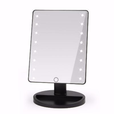 Косметическое зеркало с подсветкой Large Led MirrorЗеркала<br>Хотите наносить макияж в домашних условиях максимально качественно? Вам поможет революционное косметическое зеркало с подсветкой Large Led Mirror. Аксессуар обеспечит грамотное освещение, потому вы будете справляться с задачами не хуже профессионалов!<br>