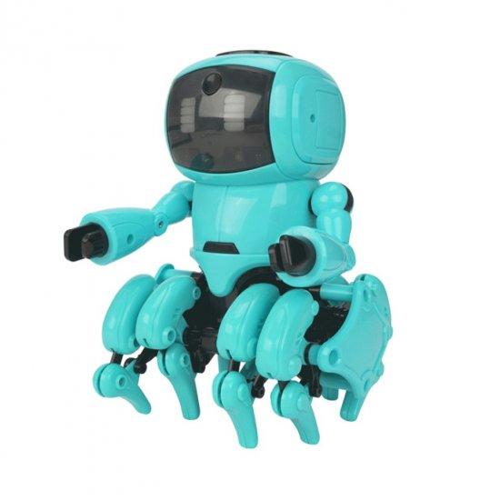 Робот-конструктор The Little 8, бирюзовый, Конструкторы  - купить со скидкой