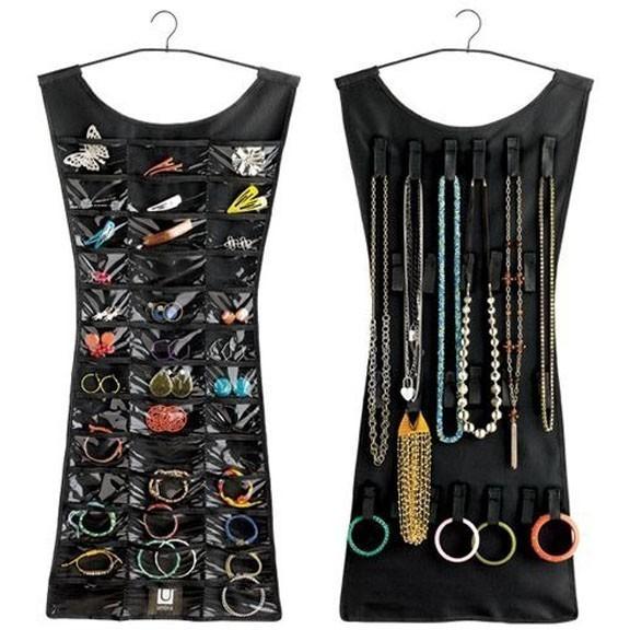 Органайзер платье для бижутерии и украшений Little Black Dress