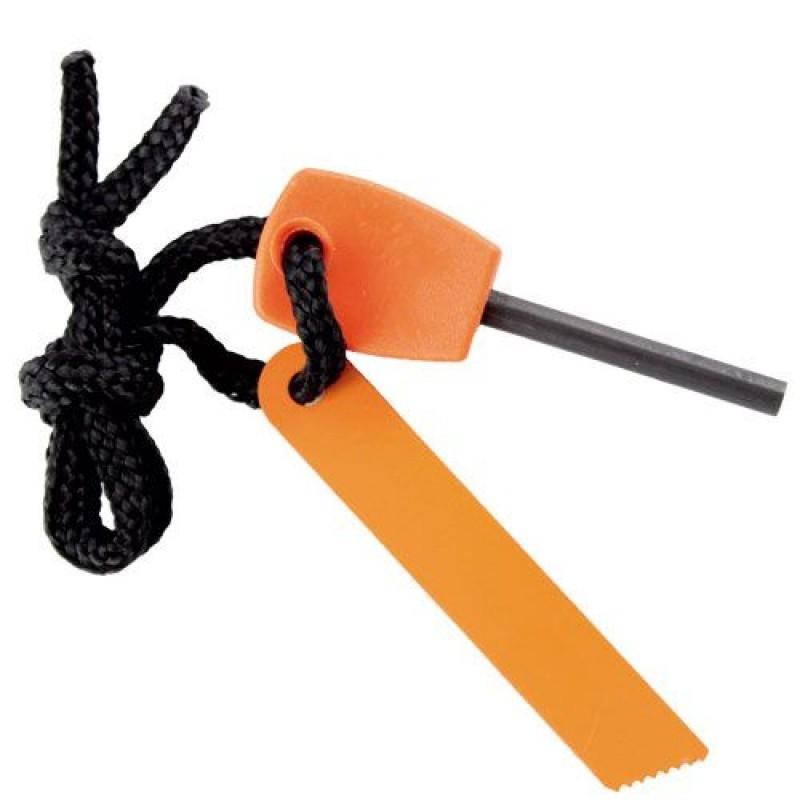 Огниво - Следопыт, малоеОгниво и вечные спички<br>Если вы часто проводите время на природе и знаете, как погода может испортить все ваши планы, то Можно вам помочь. Огниво «Следопыт» позволит раздобыть огонь и поджечь бумагу, сухую траву или другие необходимые предметы даже при ливне. Искра высекается с помощью ножа или любого острого предмета из металла!<br>