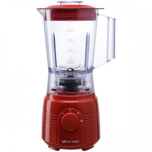 Блендер Kitfort Мощность 350 Вт Объем чаши 1,25 л Количество скоростей 2 красный 1331-2-КТ