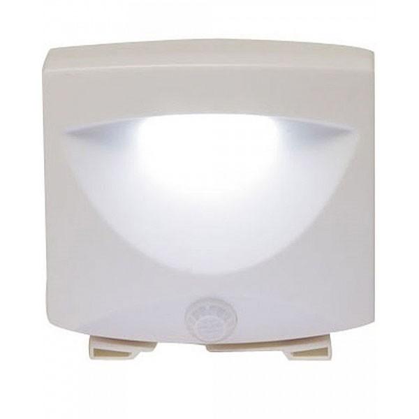 Светильник с датчиком света и движения Mighty LightС датчиком движения<br>Если ваш малыш боится ночью идти в ванную комнату и специально будит вас, то поможет светильник с датчиком света и движения Mighty Light. Аксессуар реагирует на движение и сразу обеспечивает качественное освещение. Пригодится в самых разных жизненных ситуациях, а также снизит расходы за электроэнергию!<br>