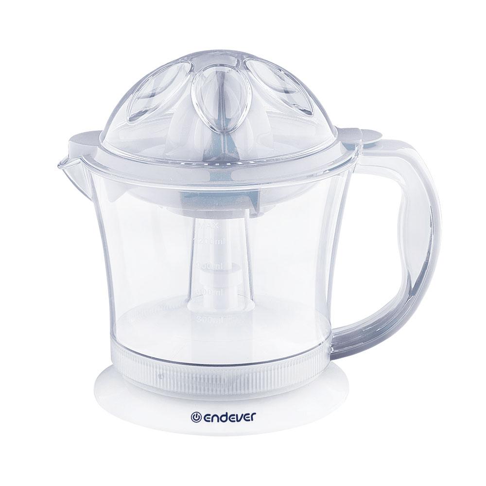 Соковыжималка для цитрусовых электрическая Endever Sigma-67Соковыжималки<br>Электрическая соковыжималка Endever Sigma-67 предназначена для быстрого приготовления свежевыжатого сока из некрупных плодов цитрусовых.<br>