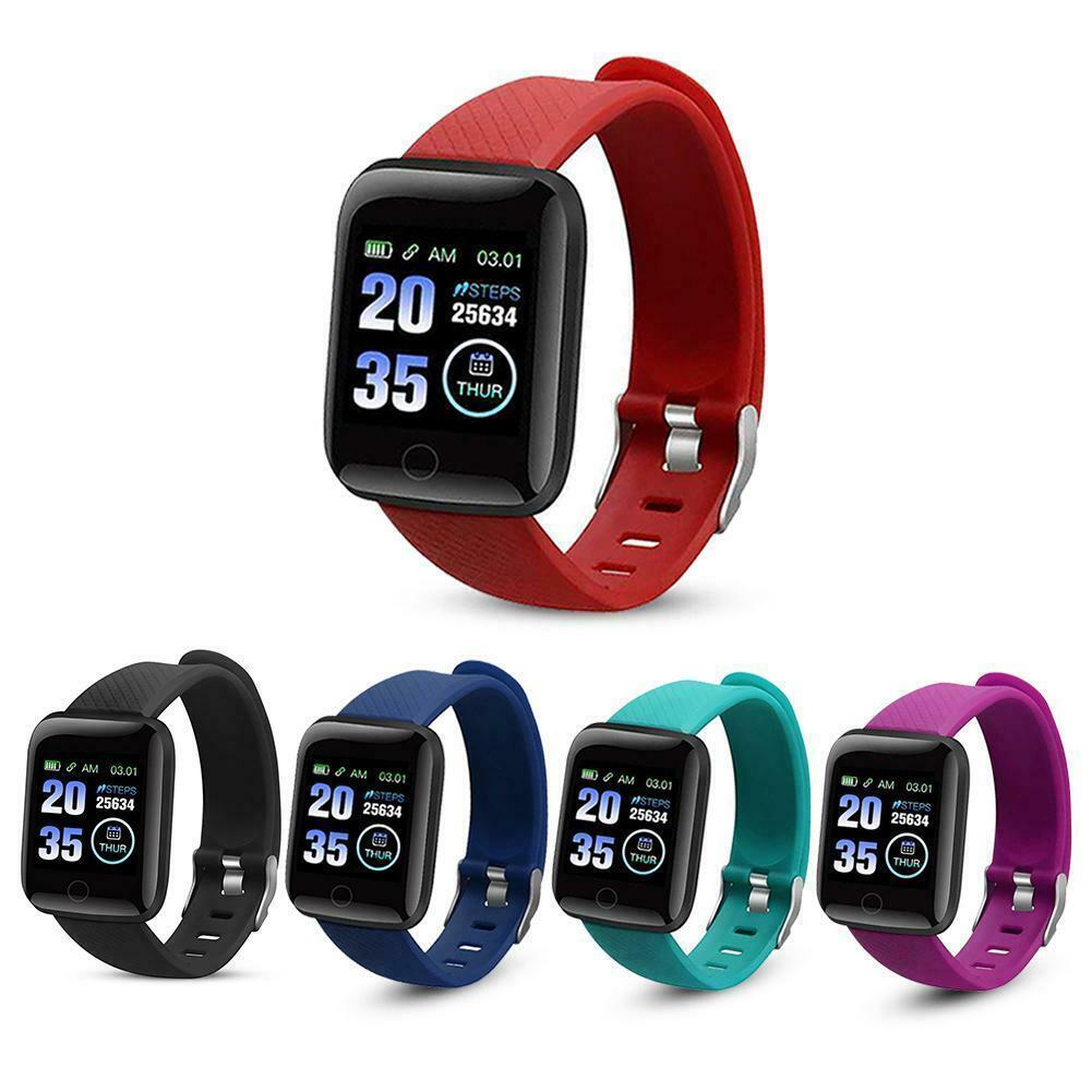 Умные часы Smart Watch 116 Plus, синий