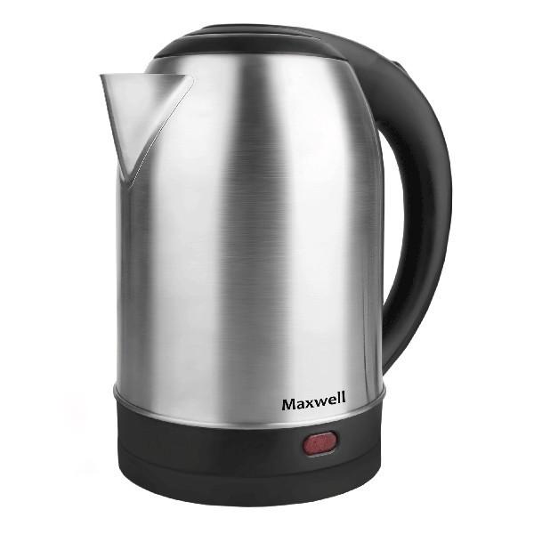 Чайник Maxwell 1077-MW(ST) MW-1077(ST)Электрочайники и термопоты<br>Электрический чайник Maxwell MW-1077(ST) прост в управлении и долговечен в использовании. Изготовлен из высококачественных материалов.<br>