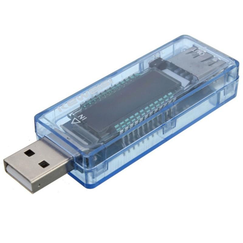 USB тестер - вольтметр, амперметр (цвет микс)Зарядные устройства<br>Если вам необходимо измерить силу тока, напряжение и количество мА в аккумуляторе, то точные ответы на любые вопросы вам даст инновационный USB тестер - вольтметр, амперметр (цвет микс).<br>