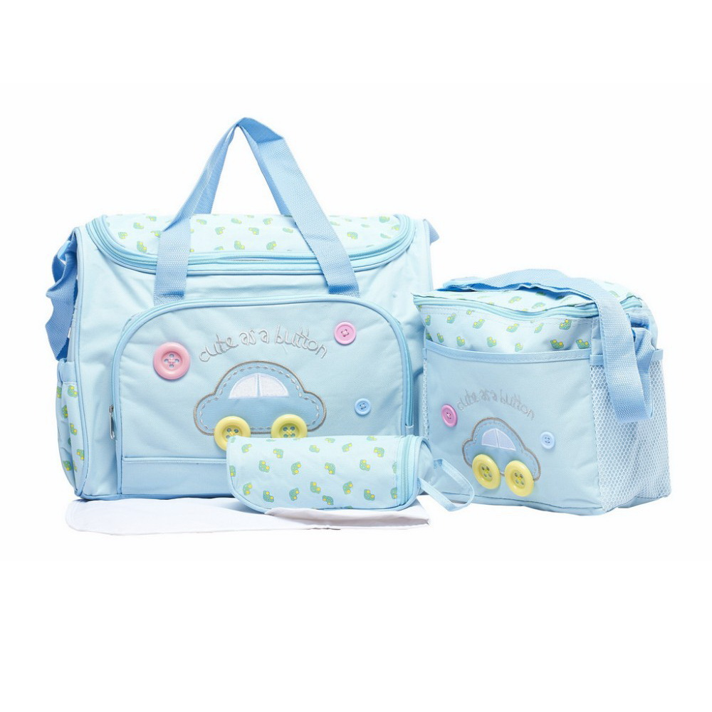 Комплект сумок для мамы Cute as a Button, 3 шт, голубой