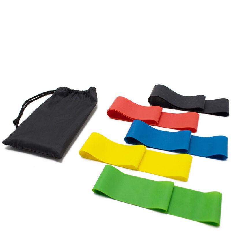 Набор резинок для фитнеса, 5 шт фото