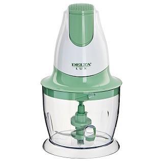 Измельчитель DELTA LUX DL-7417 белый с зеленым: 300Вт, 2 лезвия (Россия)(8)