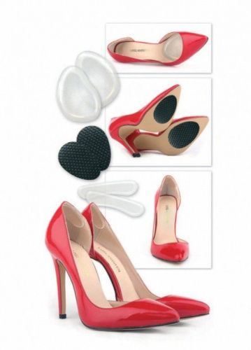 Набор стелек силиконовых для обуви