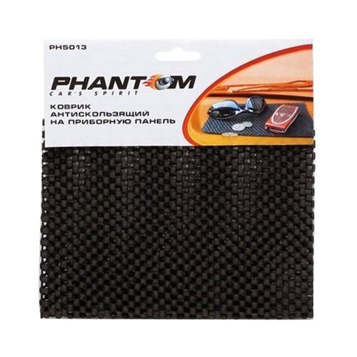 Коврик противоскользящий на приборную панель PH5013Коврики на панель<br>Противоскользящий коврик на приборную панель автомобиля нужен в каждой машине. Материал и ячеистая структура плотно прилегают к бортовой панели из шершавого и гладкого покрытия, удерживают положенные вещи на крутых поворотах.<br>