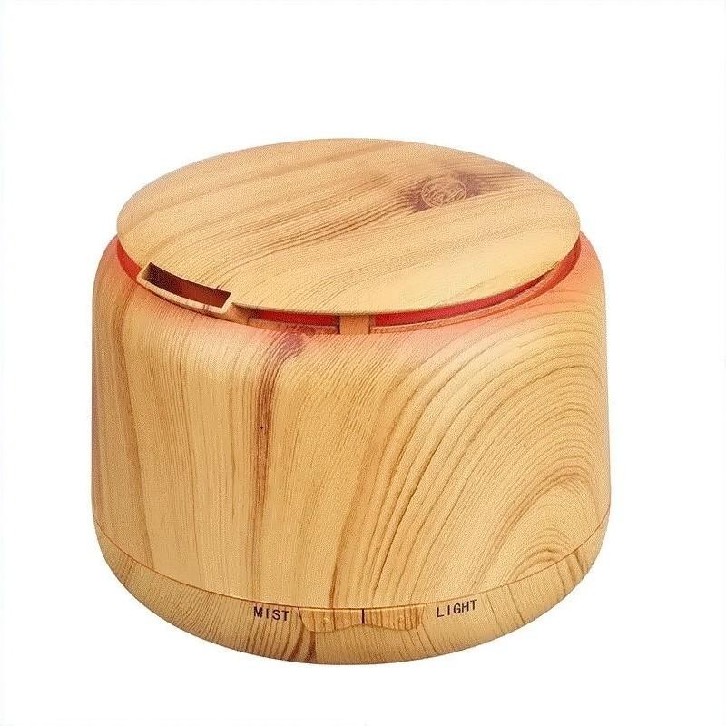 Увлажнитель воздуха RK-05 деревянный со светом,  + 1 шт. масло