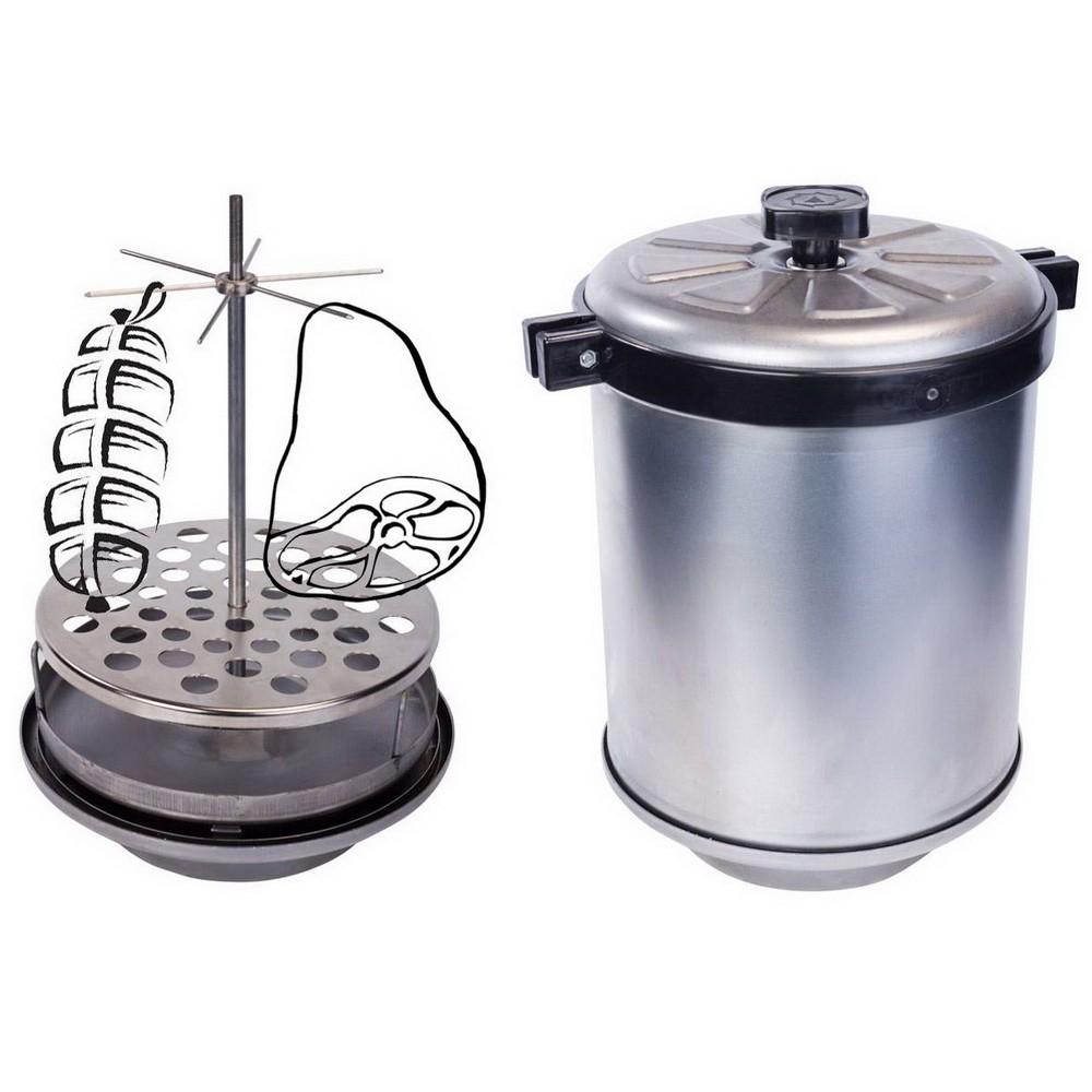 Домашняя коптильня горячего копченияДругая техника для кухни<br>Если вы хотите разнообразить рацион семьи и получить совершенно новые вкусы привычных блюд, то Посмотрите.домашнюю коптильню горячего копчения. Это устройство позволит вам готовить настоящие шедевры и станет основой для приготовления праздничного стола!<br>