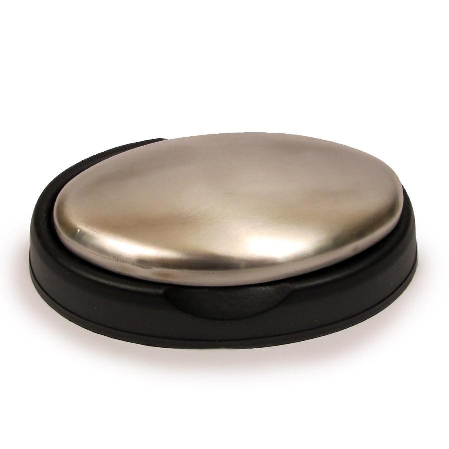 Металлическое мыло Magic SoapОстальные гаджеты<br>Вы часто готовите блюда из рыбы или других сильно пахнущих продуктов? Тогда вы просто обязаны купить металлическое мыло Magic Soap, которое избавит ваши руки от неприятного стойкого запаха. Вы будете чувствовать себя уверенно всегда!<br>