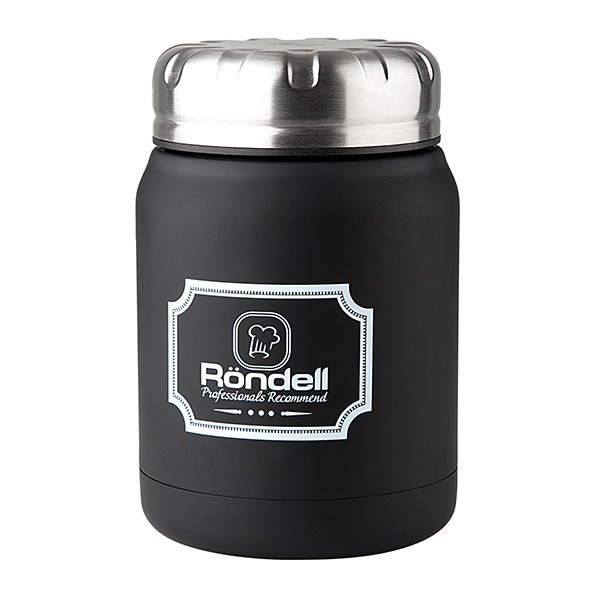 Термос для еды 0,5 л Black Picnic Rondell 942-RDS
