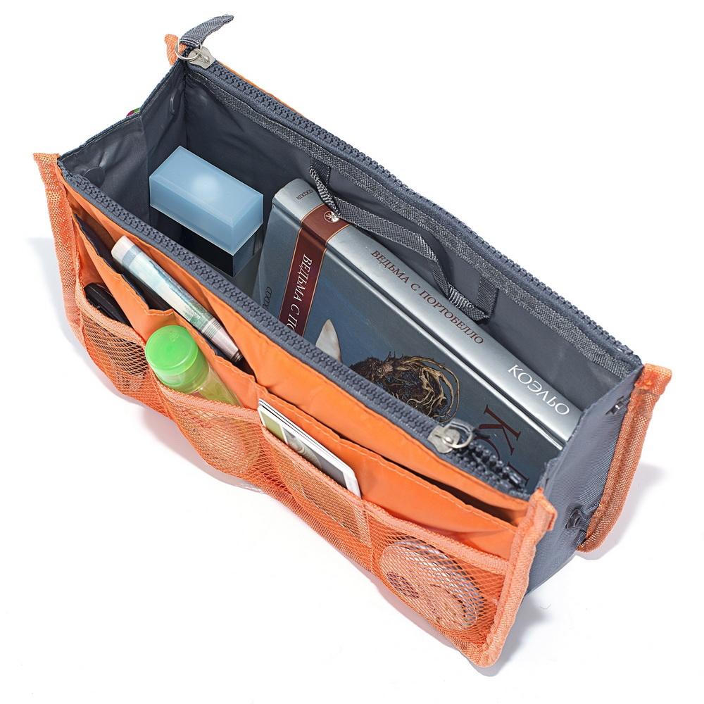 Органайзер для сумки - Сумка в сумке, оранжевый