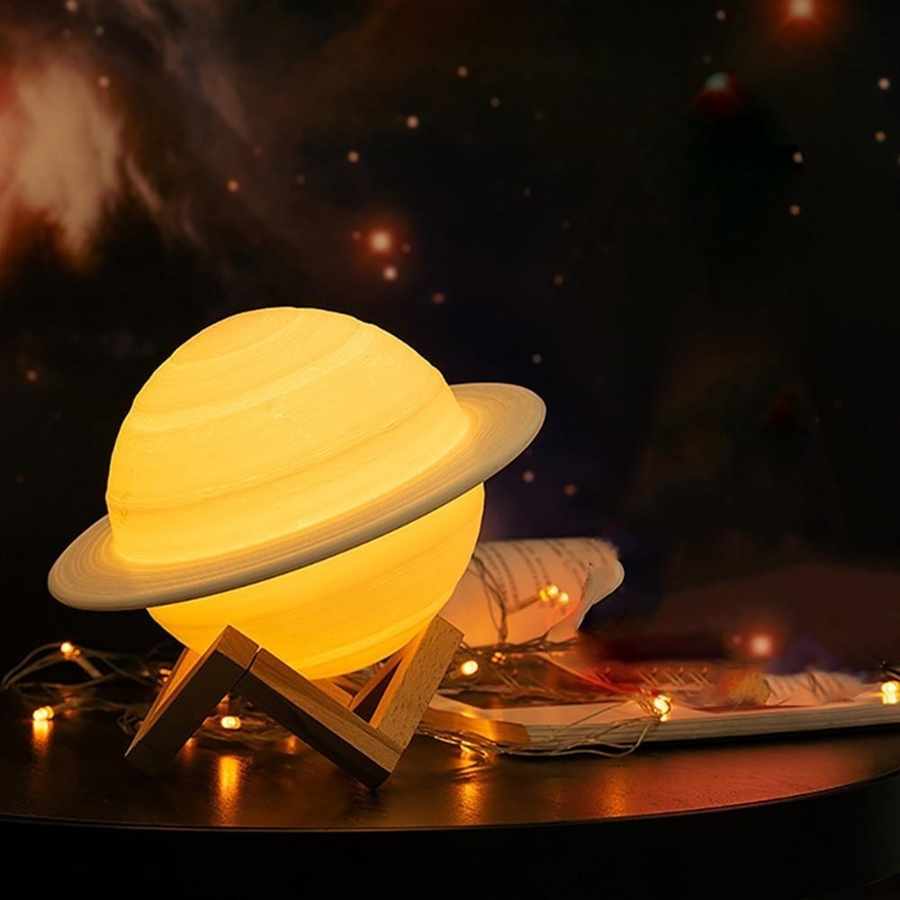 Ночник-увлажнитель воздуха Сатурн Planet Humidifier