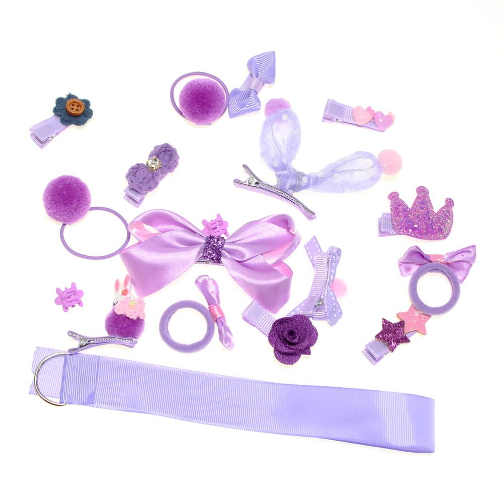 Набор детских заколок в подарочной упаковке, набор 4