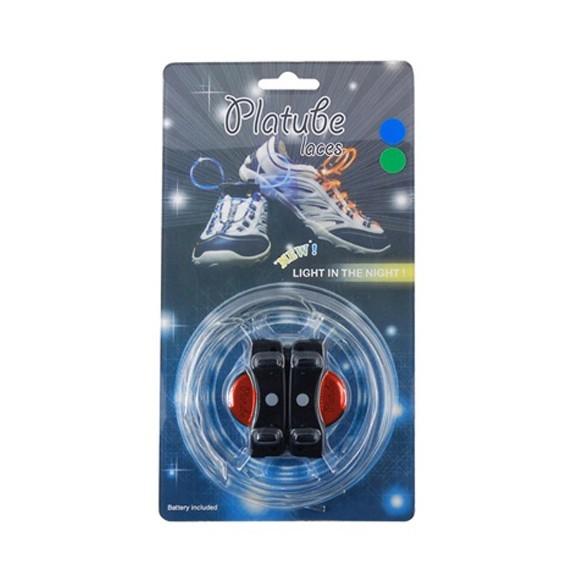 Купить Шнурки с LED подсветкой, Красный, Товары для вечеринки