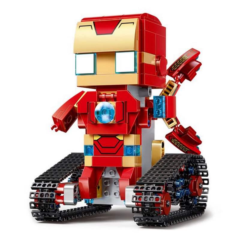Купить Конструктор робот на радиоуправлении Technic Walking Brick - Iron-Block Man, Конструкторы