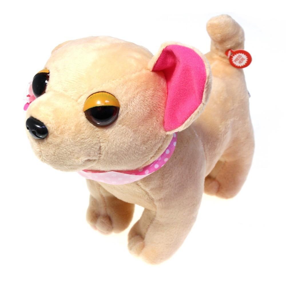 Собачка в сумочке Chi Chi Love (Чичилав) - чихуахуа с цветным ошейником, розовая сумка фото