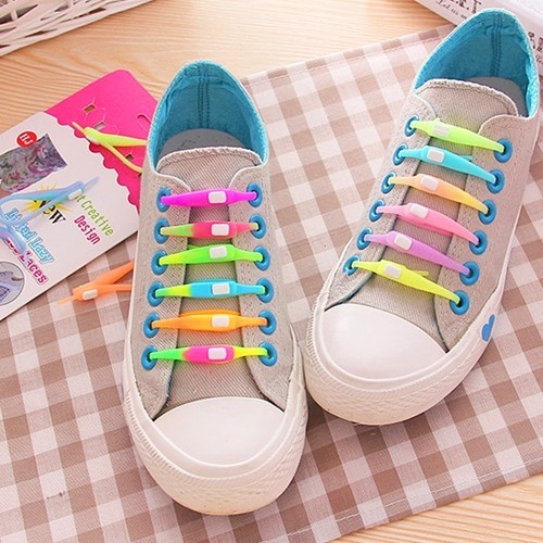 Силиконовые (резиновые) шнурки 6