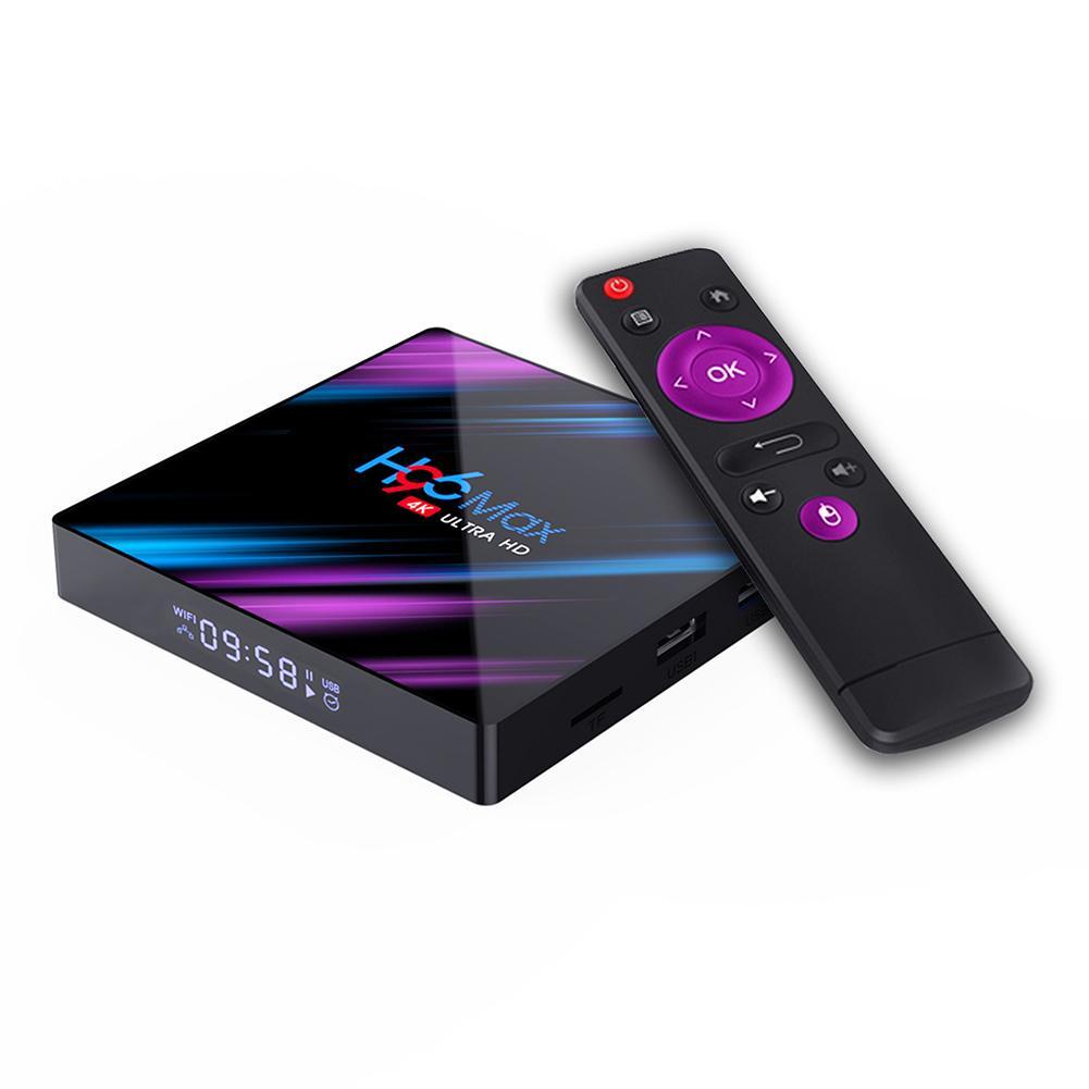 Андроид ТВ приставка OEM H96 Max RK3318 4/64