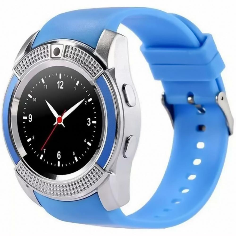Смарт-часы Smart Watch V8, голубой