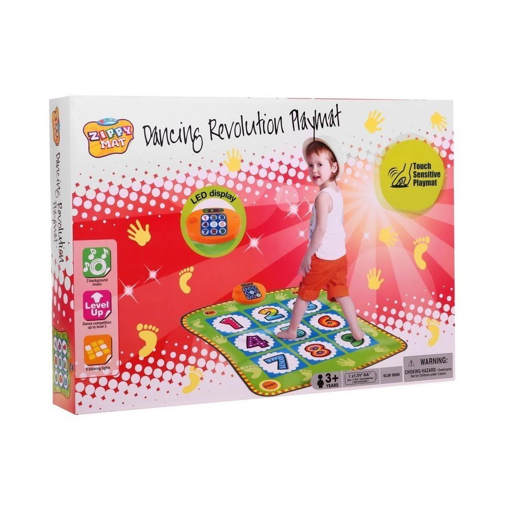 Купить Танцевальный коврик Dancing Revolution Playmat, Электронные игрушки