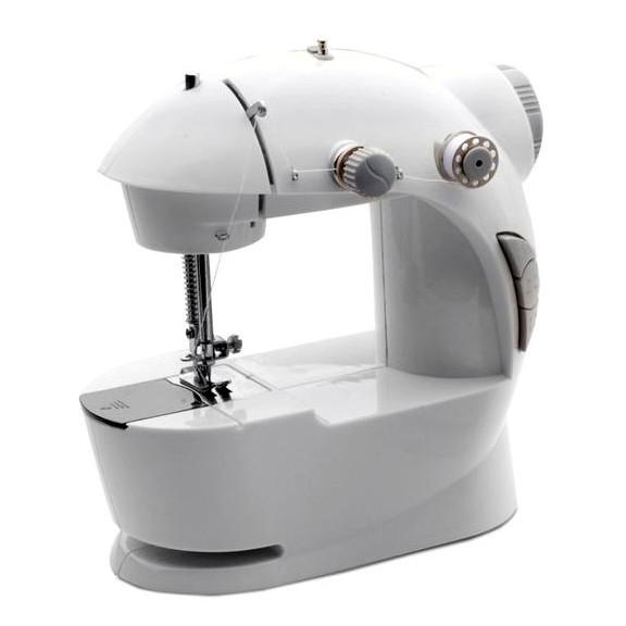 Мини швейная машинка - Mini Sewing MachineШвейные машинки и наборы для шитья<br>Хотите научиться шить и не столкнуться с массой раздражения и проблем? Нет проблем! Лучшим помощником в этой миссии станет мини швейная машинка - Mini Sewing Machine! Этот компактный агрегат не только подходит для учебы, но и станет настоящей находкой в путешествии или командировке. Вы сможете оперативно осуществить ремонт одежды и выглядеть всегда на отлично!<br>