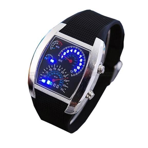 Часы Спидометр - популярные LED часы от MELEON