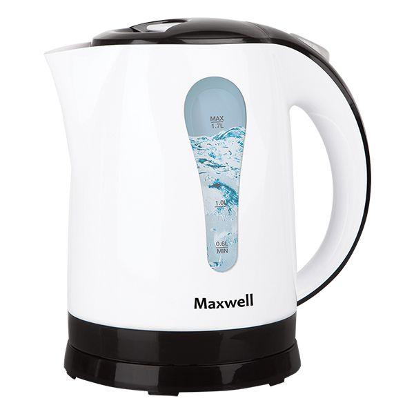 Чайник Maxwell 1079-MW(W) MW-1079(W)Электрочайники и термопоты<br>Электрический чайник мощностью 2200 Вт. MAXWELL MW-1079 W обладает функцией автоотключения при отсутствии воды, что значительно повышает безопасность использования.<br>