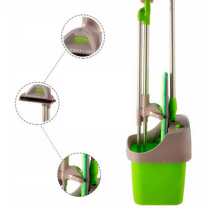 Набор для уборки - Self-Cleaning Mop (самоочистка и отжим)