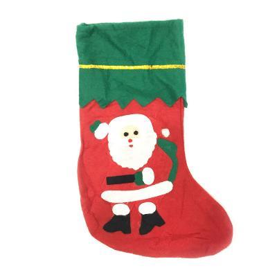 Новогодний носок для подарков, 36х22см, Дед Мороз фото