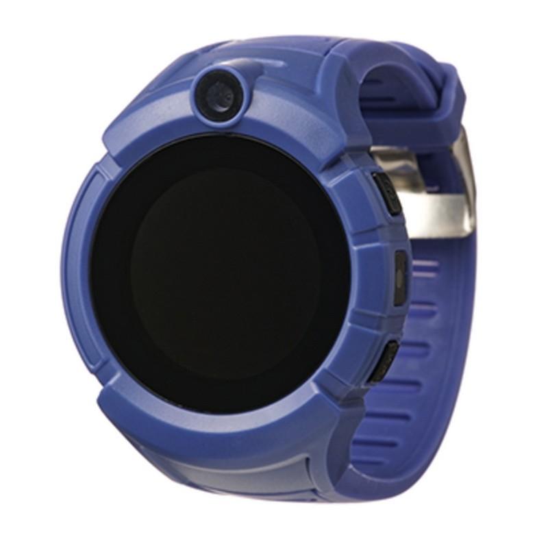 Детские GPS часы Smart Baby Watch Q360 с фонариком, синий